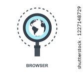 vector illustration of browser...   Shutterstock .eps vector #1227148729