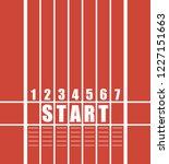 start track. illustration of a... | Shutterstock .eps vector #1227151663