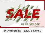 sale banner template design....   Shutterstock .eps vector #1227152953