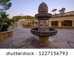 old fountain and thermal baths... | Shutterstock . vector #1227156793