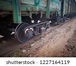 close up view on used rusted... | Shutterstock . vector #1227164119