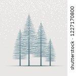 vector illustration christmas... | Shutterstock .eps vector #1227170800