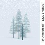 vector illustration christmas... | Shutterstock .eps vector #1227170809