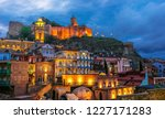 view of the old town of tbilisi ... | Shutterstock . vector #1227171283