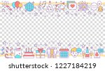 party accessories social media... | Shutterstock .eps vector #1227184219