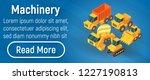 machinery concept banner.... | Shutterstock .eps vector #1227190813