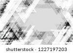 urban geometric camouflage... | Shutterstock .eps vector #1227197203