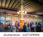 valencia  spain    11 01 2018 ... | Shutterstock . vector #1227199096