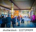 valencia  spain    11 01 2018 ... | Shutterstock . vector #1227199099