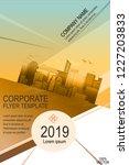 business urban abstract flyer...   Shutterstock .eps vector #1227203833