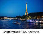 paris  france june 1  2016  ... | Shutterstock . vector #1227204046