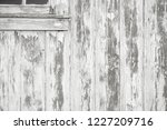 old weathered wood surface with ... | Shutterstock . vector #1227209716