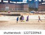 mar del plata  argentina   26... | Shutterstock . vector #1227220963