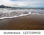 waves of the atlantic ocean... | Shutterstock . vector #1227234910