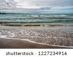 waves of the atlantic ocean... | Shutterstock . vector #1227234916