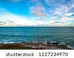 skyline of the atlantic ocean... | Shutterstock . vector #1227234970
