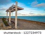 central embankment in mar del... | Shutterstock . vector #1227234973