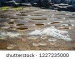 unusual background of stones ... | Shutterstock . vector #1227235000