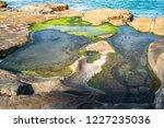 unusual background of stones ... | Shutterstock . vector #1227235036