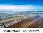 waves of the atlantic ocean... | Shutterstock . vector #1227235096