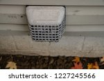 dryer vent on your home must be ... | Shutterstock . vector #1227245566