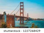 golden gate bridge | Shutterstock . vector #1227268429