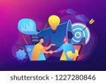 businessmen handshake from... | Shutterstock .eps vector #1227280846