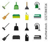 vector illustration of cleaning ... | Shutterstock .eps vector #1227286516
