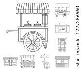 vector design of market and... | Shutterstock .eps vector #1227286960