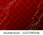 red gradation japanese pattern   Shutterstock .eps vector #1227290146