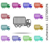 freight container of freight... | Shutterstock .eps vector #1227300196