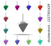 physical pendulum icon.... | Shutterstock .eps vector #1227301639