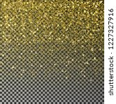gold glitter confetti vector.... | Shutterstock .eps vector #1227327916
