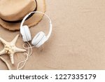 travel vacation and music... | Shutterstock . vector #1227335179