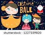 costume ball invitation.... | Shutterstock .eps vector #1227339820