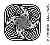 design monochrome spiral... | Shutterstock .eps vector #1227370360
