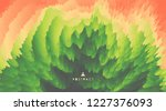 3d wavy background with ripple... | Shutterstock .eps vector #1227376093