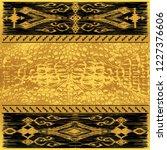 oriental decor in traditional... | Shutterstock .eps vector #1227376606