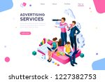 advertisement  call for... | Shutterstock .eps vector #1227382753