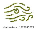 christmas decorations with... | Shutterstock .eps vector #1227399079