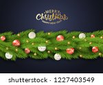 holiday's background with... | Shutterstock .eps vector #1227403549