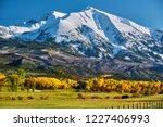 Mount Sopris Autumn Landscape...