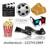 illustration for the film... | Shutterstock .eps vector #1227411889