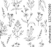 seamless vector pattern of... | Shutterstock .eps vector #1227422080