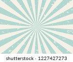 sunlight wide retro faded... | Shutterstock .eps vector #1227427273
