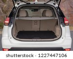 rear view of a suv car with... | Shutterstock . vector #1227447106
