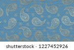 this is a paisley pattern... | Shutterstock .eps vector #1227452926