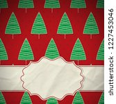 this is a christmas and new... | Shutterstock .eps vector #1227453046