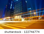 the city and the road at night | Shutterstock . vector #122746774