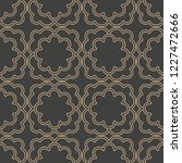 vector damask seamless retro...   Shutterstock .eps vector #1227472666